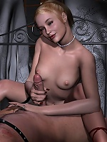 3D Hooker gets bound and plugged by Hentai Orc