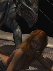 Horrible monster fuck slim and shy girl in doggy style
