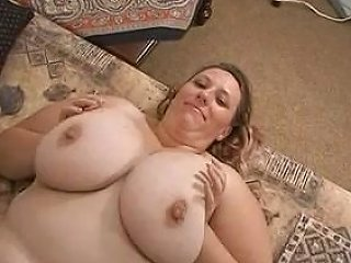 Plump Milf Shows Her Gigantic Tits