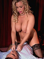 Amber Lynn Bach - The Lady In Red With Big Tits & A Toy