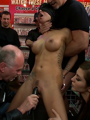 Free Pussy at the Porn Store