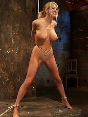 Bomb shell blond with massive...
