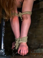 Huge Nipples Tied and...