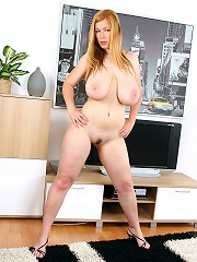 A chick with two massive knockers