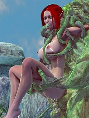 The World of Warcraft porn 3D monster is too much furious not to bone till jade feels like sucked fruit and wont be able to m