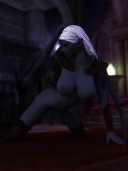 Eager Elf Girl screwed by Ogre