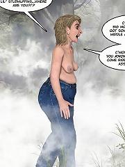 Sweet Cartoon Hooker bursts climax