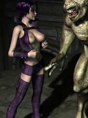 Bitch feels innocent 3D Sex expert