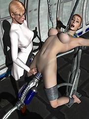 Anime Slut rides perverted Hentai Ghoul