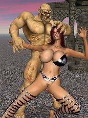 Slutty Hentai student girl getting bound