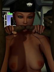 Virgin Bitch blowjobs dizzy Crusader