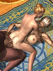 Hot Amazon craves Lover and puts cum