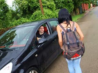 Picked Up Schoolgirl