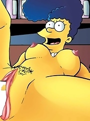 Teen nerd Lisa from The Simpsons is oh so slutty