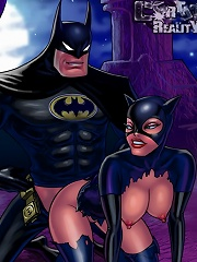 Batman punishes sluts