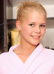Young teenage girl