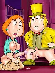 Futanari sex revelations from Family Guy series