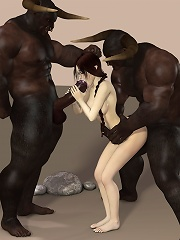 Bitch getting sprayed on her face and coming