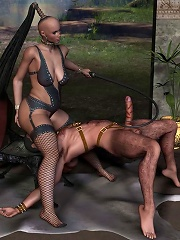 Hot 3D BDSM Comics