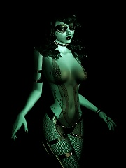 3D actress getting backreamed hard by Toon Orc