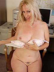 Heather gets naked after work!