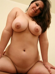 Beautiful plumper getting fucked on the rug