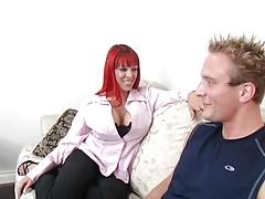 Big Titted Redhead Milf