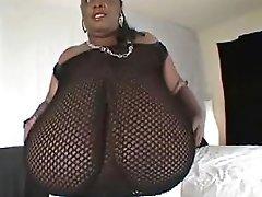 White Guy Fucking Mega Busty Black Mom