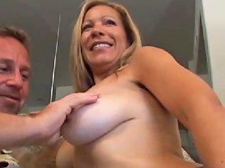 Horny MILF Gets Her Beaver Stuffed Big Time