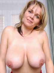 free boobs gallery Busty blonde mature Timea...