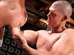 Matthieu Paris & James Aaron in hot gay fisting movies