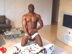A beefy black man with a nice big black cock! What more would you like?