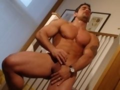 Six pack Daniel Marvin has one great body and he will show you all and spurt for you.