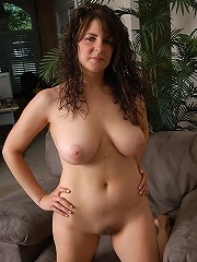 Sweet looking MILF with big tit teasing us in this one