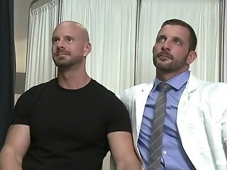 Morgan Black Explores Mitch Vaughn's Ass Before Fucking It Hard