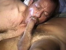 Cock loving old guys giving head