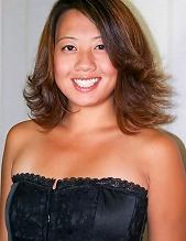 Asian American Girl Amber Yang