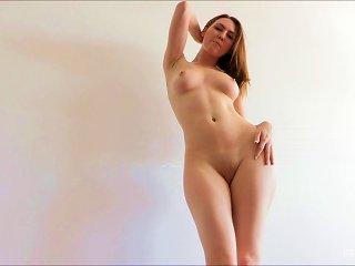 Marvelous Meghan Bonus Dances Ballet Naked In A Solo Model Clip