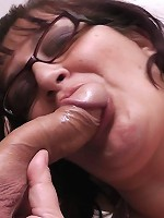 Voluptuous young cutie travels to a small town and hooks up in public bathroom