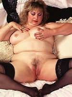 Massive Titted Babe Undressing and Teasing her Clit