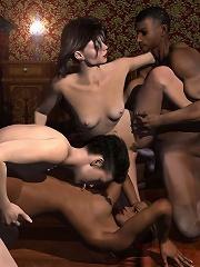 BDSM 3D Cartoons