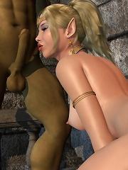 Gorgeous Porncraft Girl with curvy body