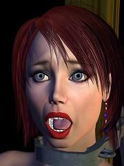 Excited Sorceress gets pleasure