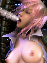 Boss making pussy friction and getting fucked by Dark Elf