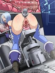 Futanari xxx fuck toons