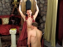 The king of the twinks has the ultimate ass penetration with his servant