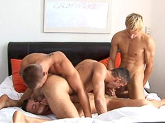 Hot gay orgy porn movie