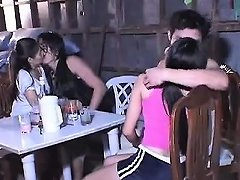 Nice Indian Teenagers Fuck With Two Studs