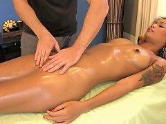 Sexy Thai Girl Fucks Masseur Free Thai Pussy Massage Hd Porn