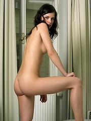 Mona doing striptease
